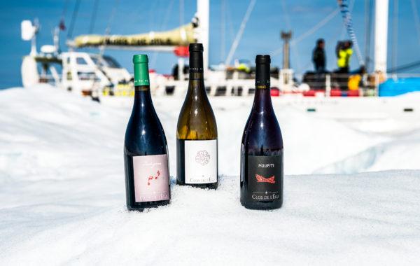 Nos bouteilles à la découverte des pôles