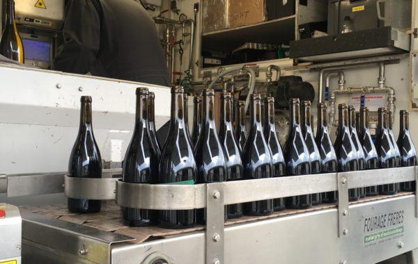 Mise en bouteille d'Espérance et Bastingage 2017